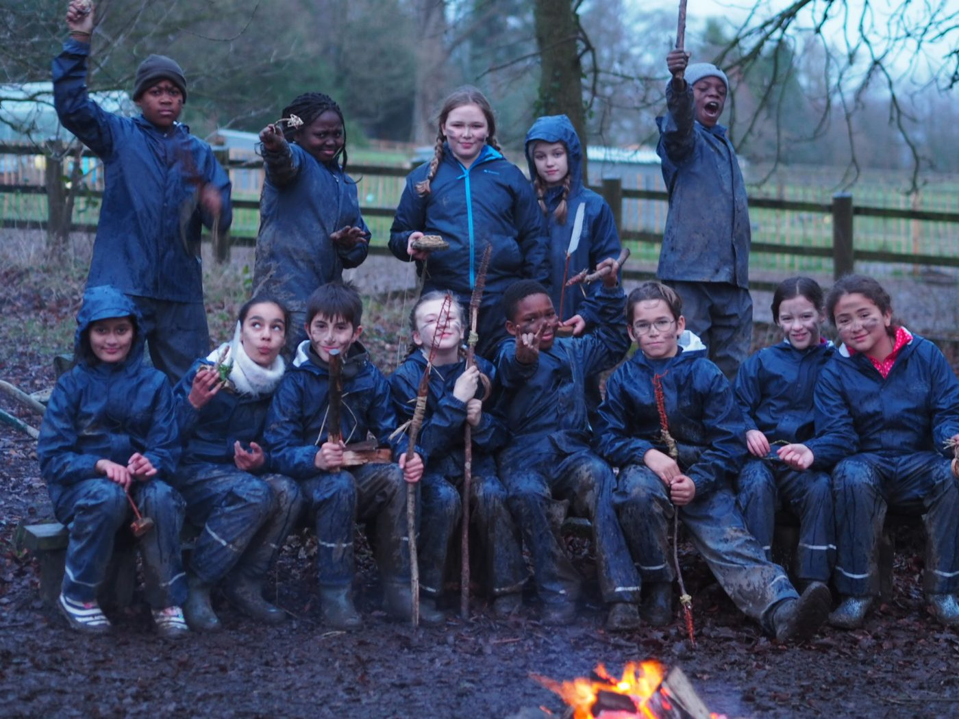 Forest school, outdoor education